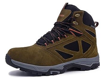 7b55a6786e8b86 Knixmax Damen Herren Wanderschuhe Hiking Schuhe Outdoor Anti-Rutsch-Sohle  Wasserdicht Trekking-Wanderhalbschuhe