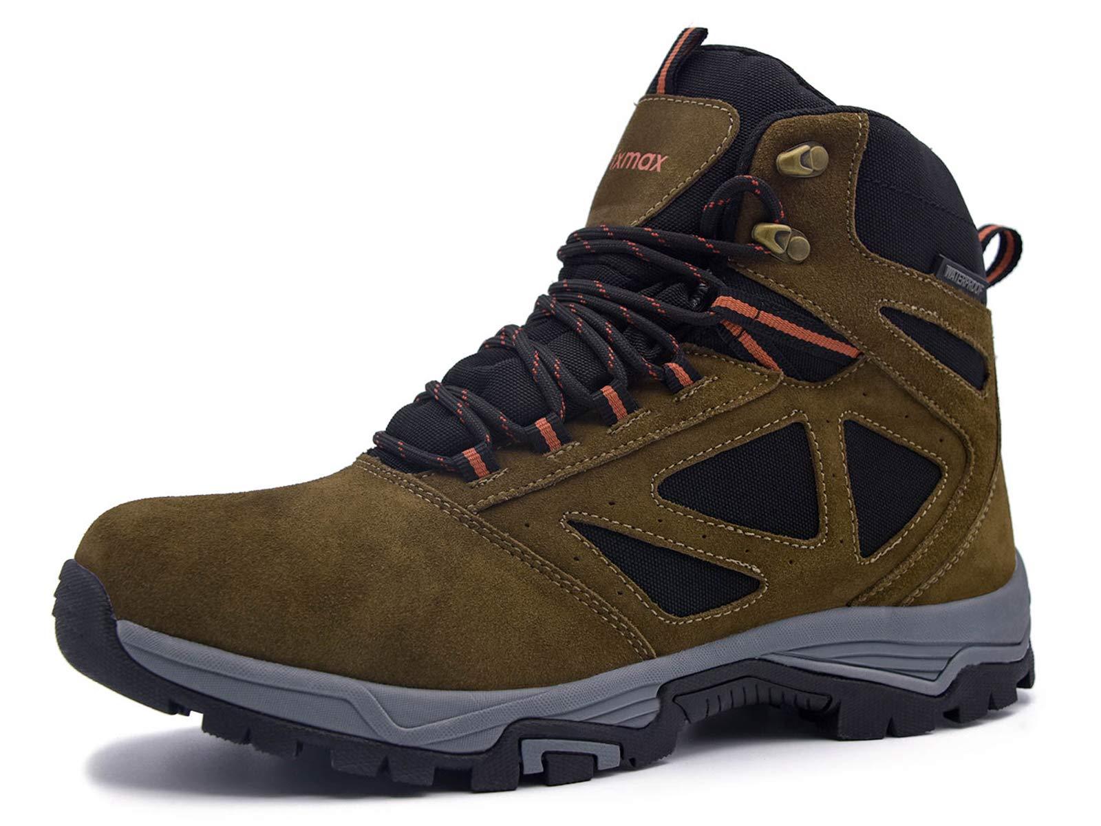 cd5eabc5952 Knixmax Femme Homme Chaussures De Randonnée Extérieure Non-Slip Semelle  Imperméable Trekking Chaussures De Marche