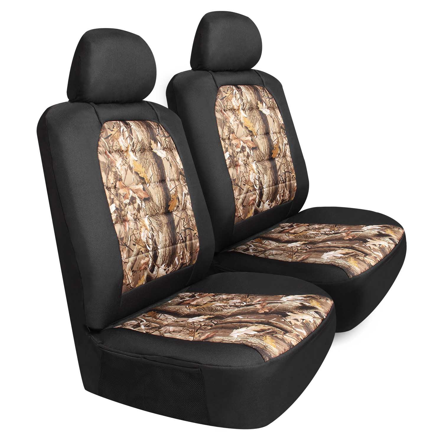 Pilot Automotive SC-445CA 6-Piece Camo Canvas Seat Cover Set