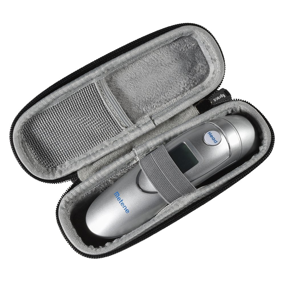 Aproca Hard Travel Carrying Case for Metene Medical Forehead and Ear Infrared Digital Thermometer