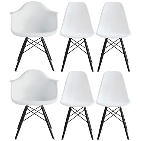 Amazon.com: 2 x estilo de Home – Set de seis (6) – Eames ...