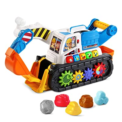 VTech Scoop & Play Digger: Toys & Games