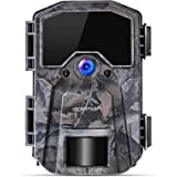 APEMAN Trail Camera 20MP 1080P Wildlife Camera, Night Detection Game Camera with No Glow 940nm IR LEDs, Time Lapse, Timer, IP