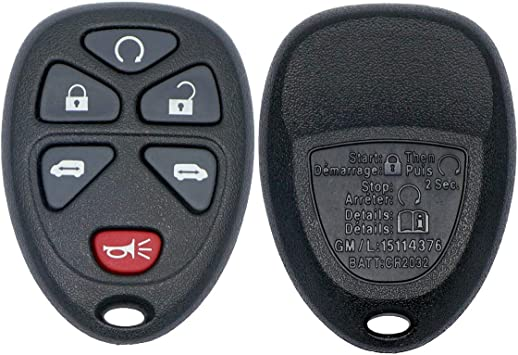 Amazon Com Chevrolet Keyless Entry Remote Fob Clicker For 2006