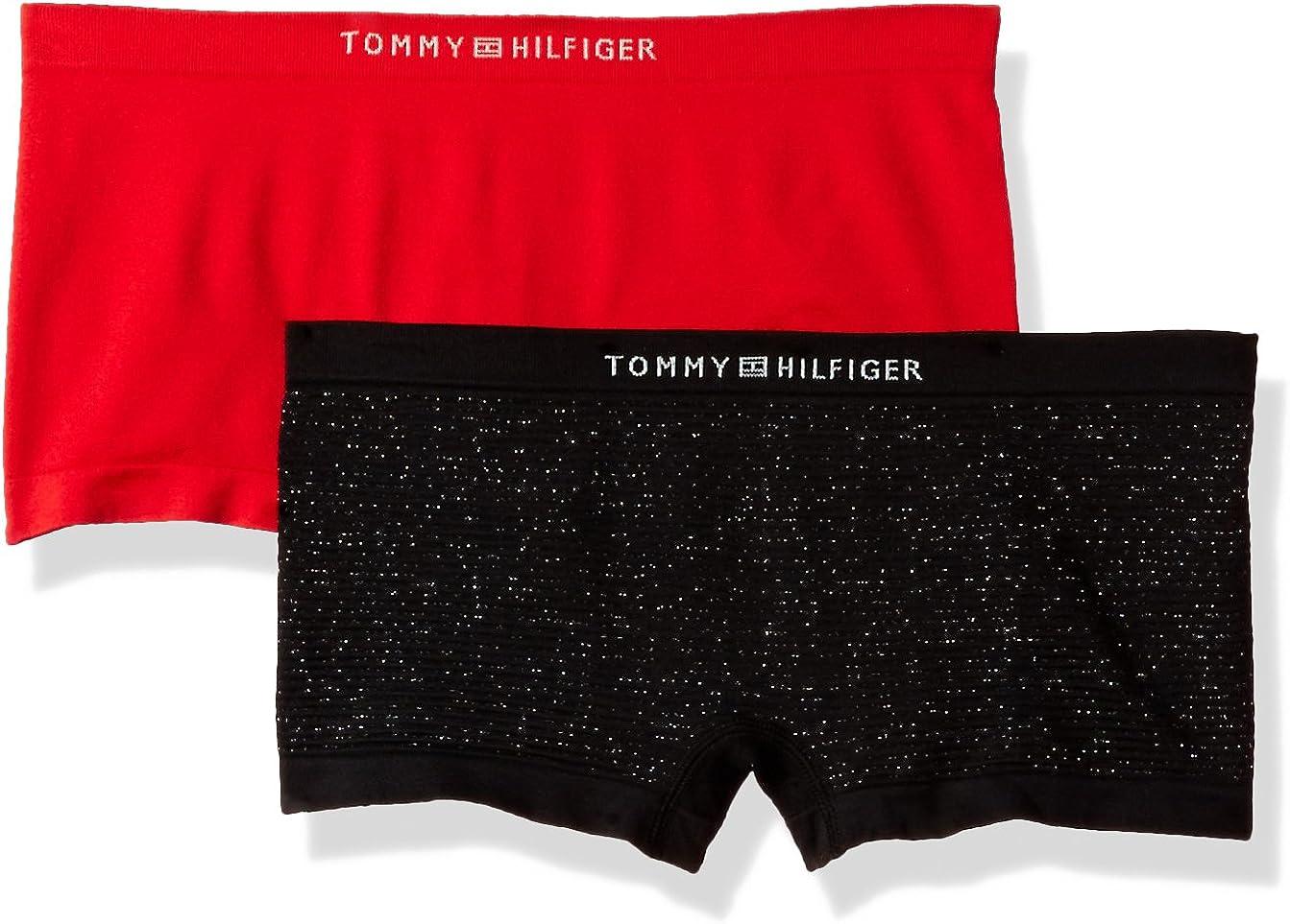 Tommy Hilfiger Womens Seamless Boyshort Underwear Panty Multipack