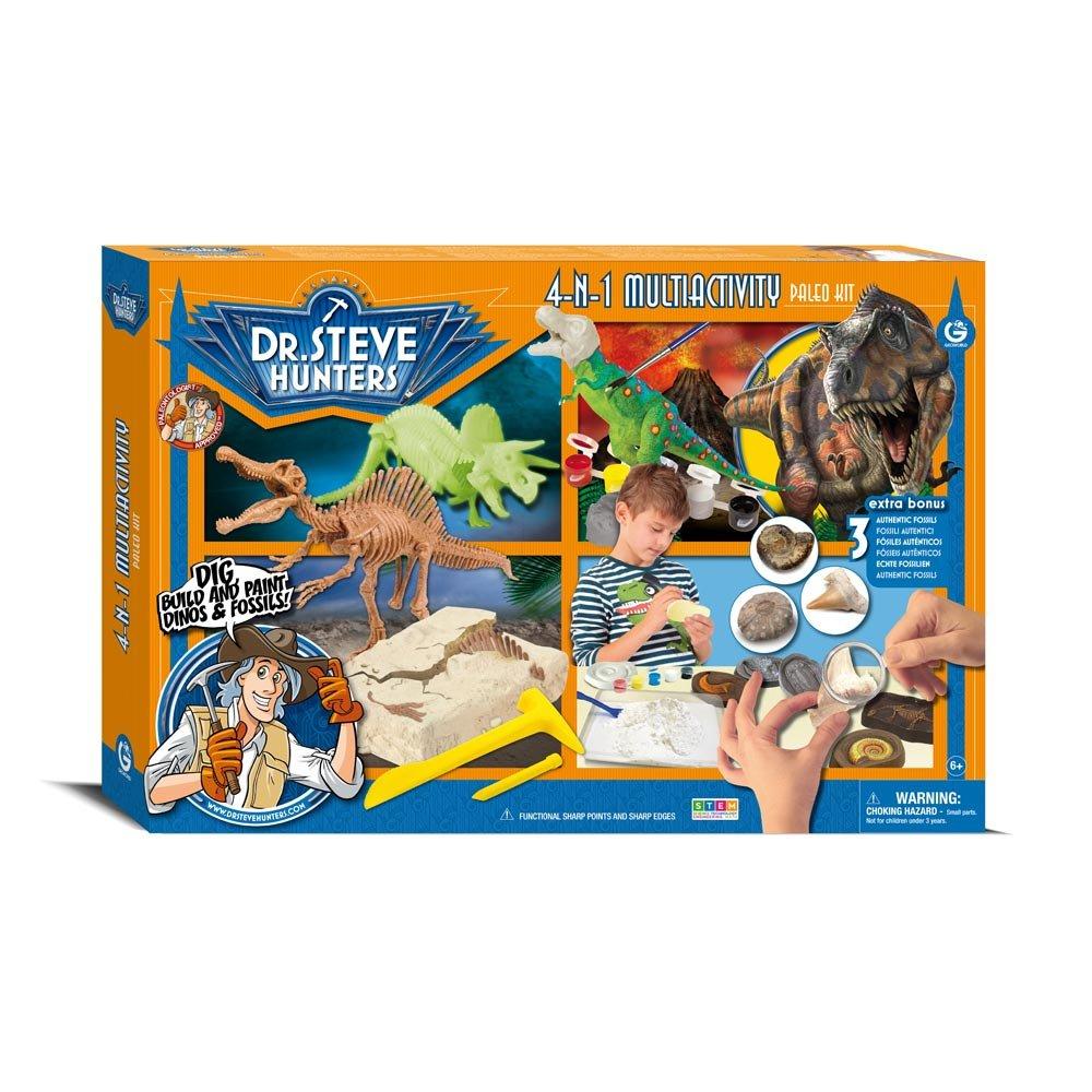 Dr. Steve Hunters cl1700 K – Juegos Multiactivity Paleo Kit