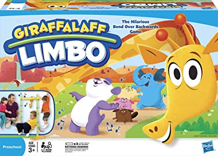 amazon com giraffalaff limbo toys games rh amazon com People Doing the Limbo Clip Art People Doing the Limbo