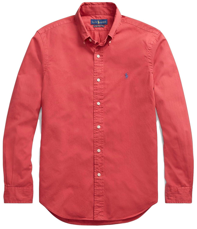 a54616bc RALPH LAUREN Men Solid Sport Oxford Shirt