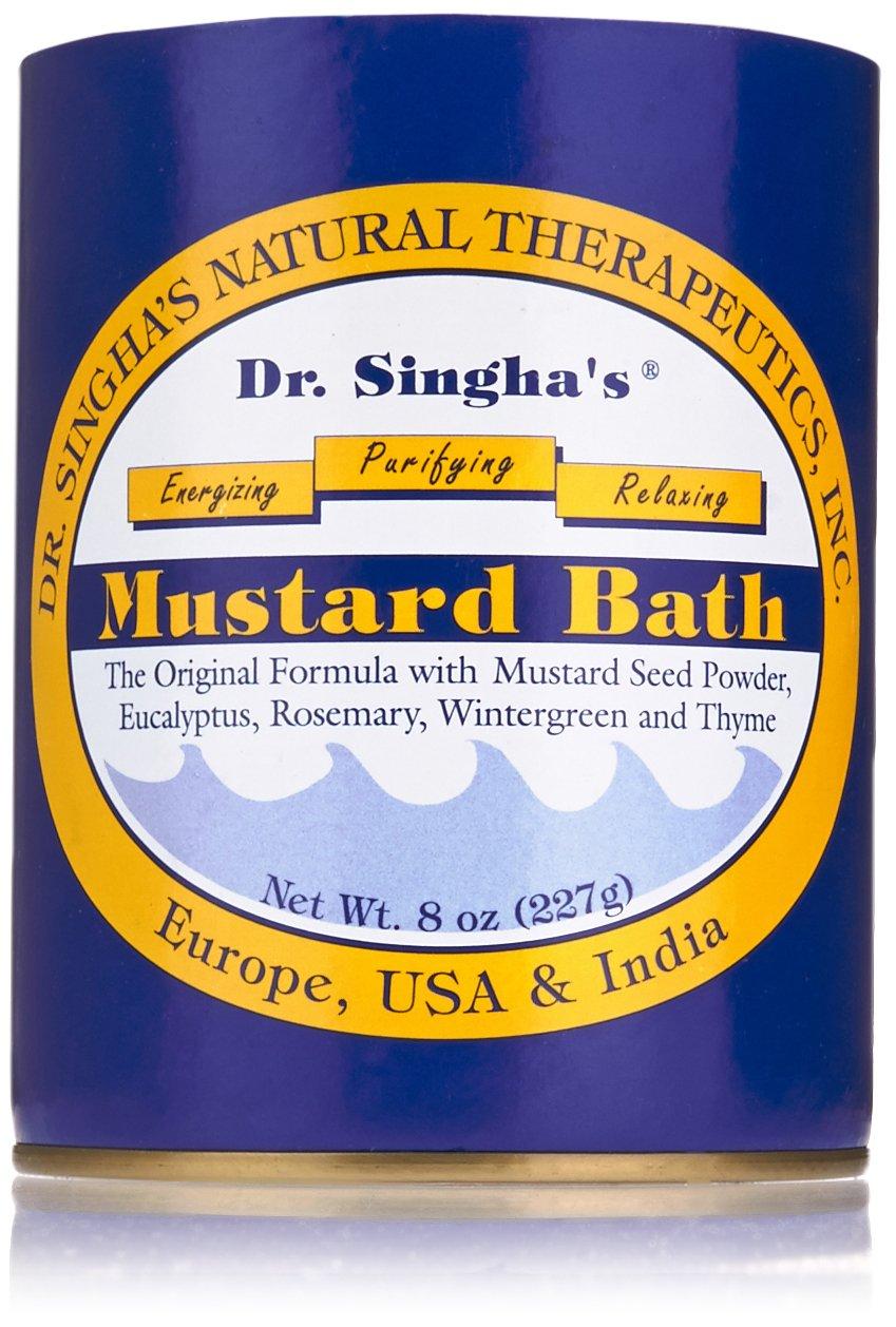 Dr. Singha's Natural Therapeutics - bagno di senape - 8 oz. Dr. Singha' S Mustard Bath 561852