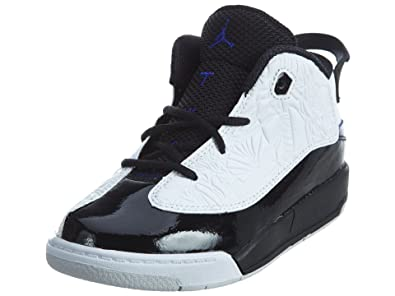 c38c9f2d61fe24 Nike JORDAN DUB ZERO BT BOYS fashion-sneakers 311072-106 WHITE CONCORD-BLACK