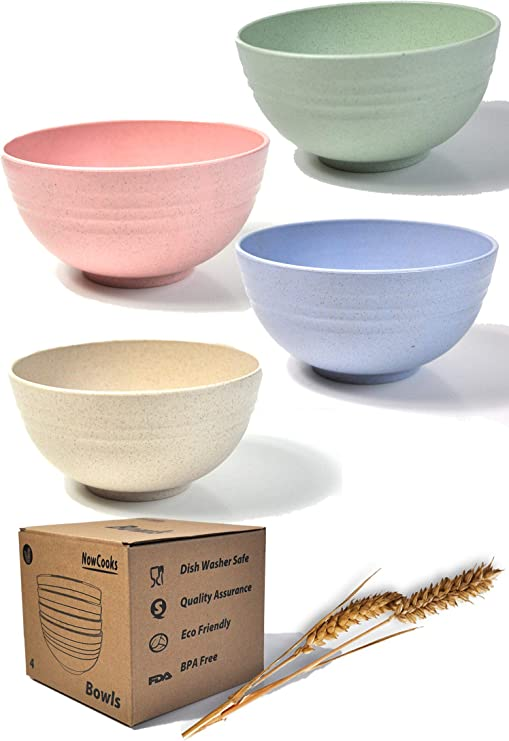 LARGE SIZE BOWL IDEAL FOR SALADS CEREALS FRUITS AND MUCH MORE FDA APPROVED BPA FREE KITCHEN BOWLS GREEN