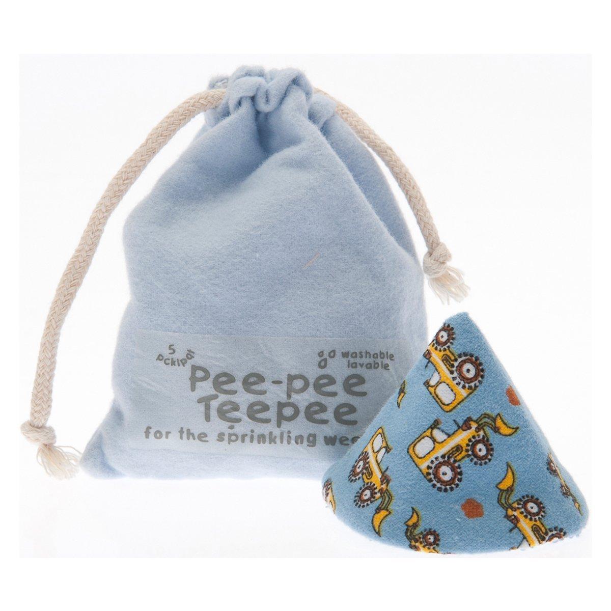 Pee-pee Teepee Digger Blue - Laundry Bag Beba Bean PT3094