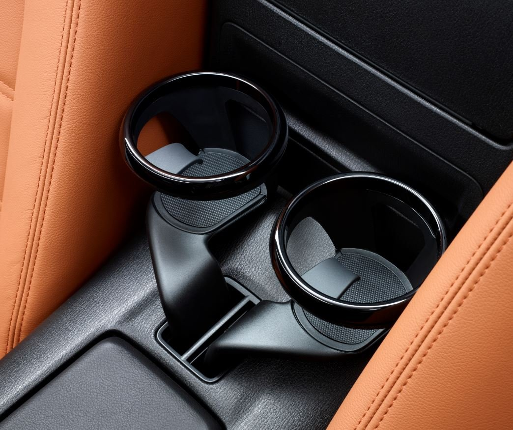 Car seat side slit Pockets Coin Catcher Car Drink Holder Car Slash Pockets PU Leather Car Seat Organiser With Drinks Holder in Luxury Design Dubens/® Black
