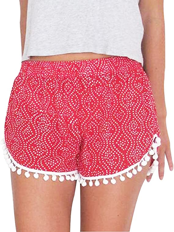 Summer Mae Pantalones Cortos de Las Mujeres de Gimnasio Shorts de Ba/ño Deportes Acu/áticos Shorts de Nataci/ón Secado R/ápido con cord/ón Ajustables