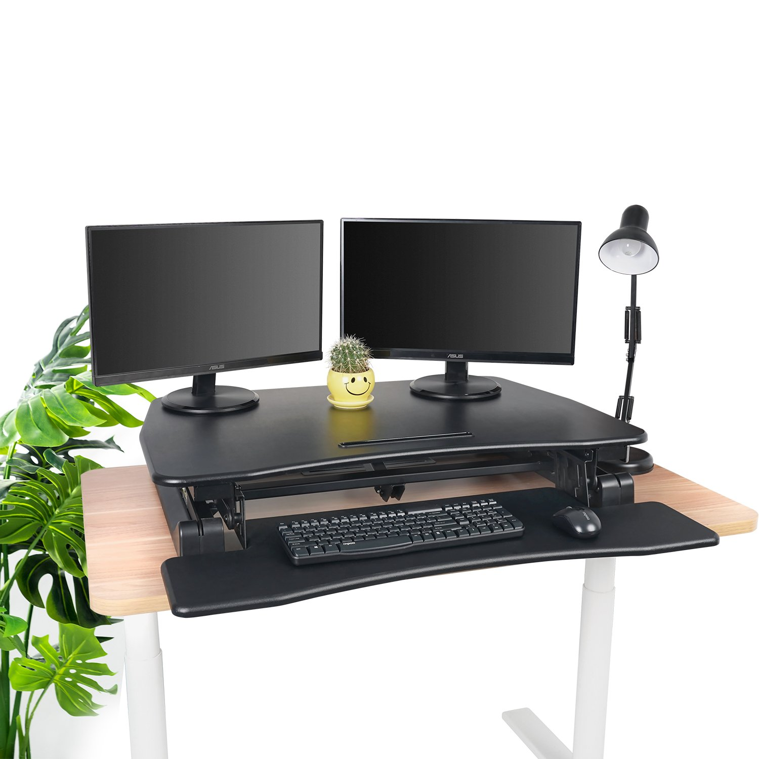 Electric Standing Desk Converter Fezibo 36 Quot Height