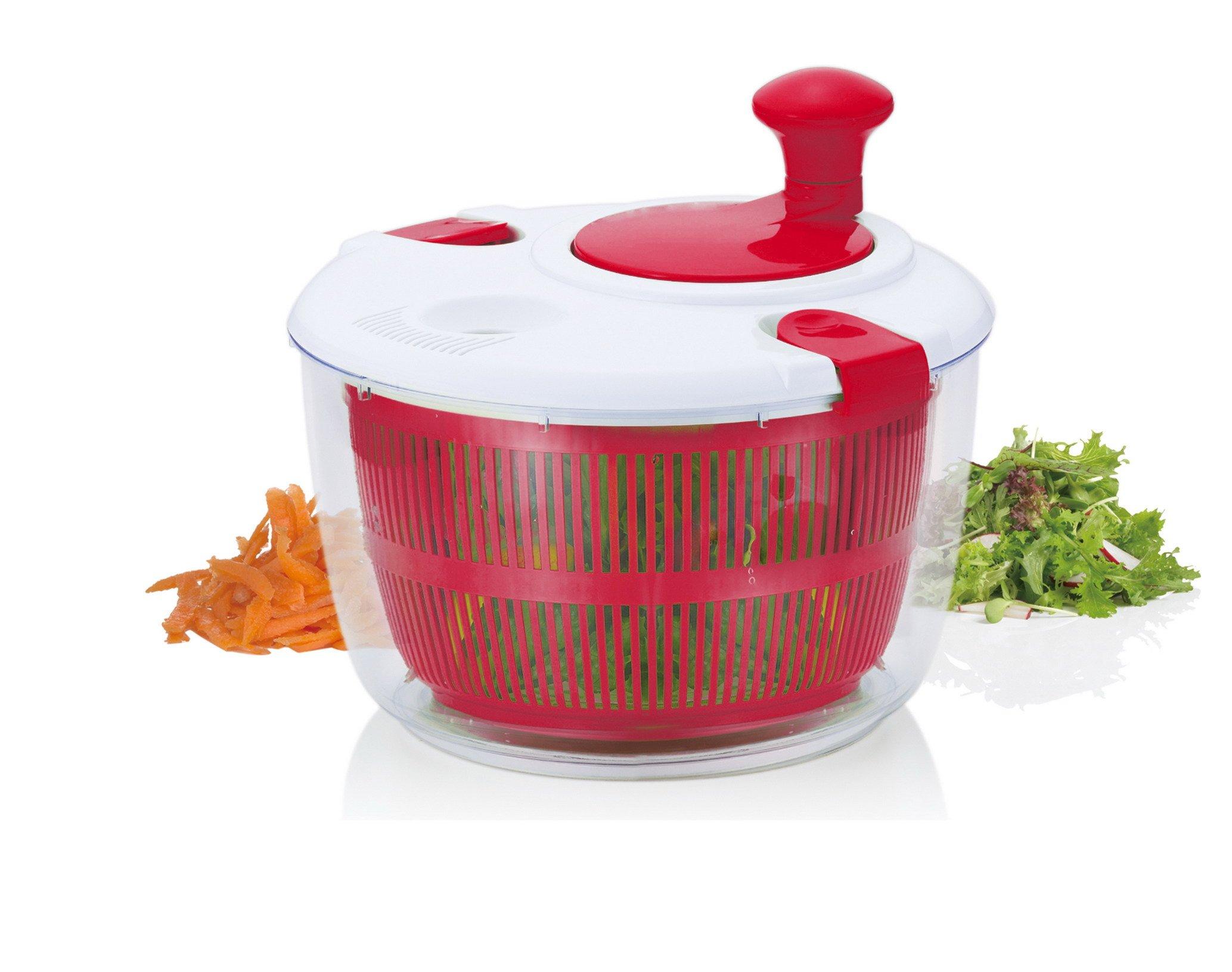 Brilliant - Salad Spinner Vegetable Dryer, Red