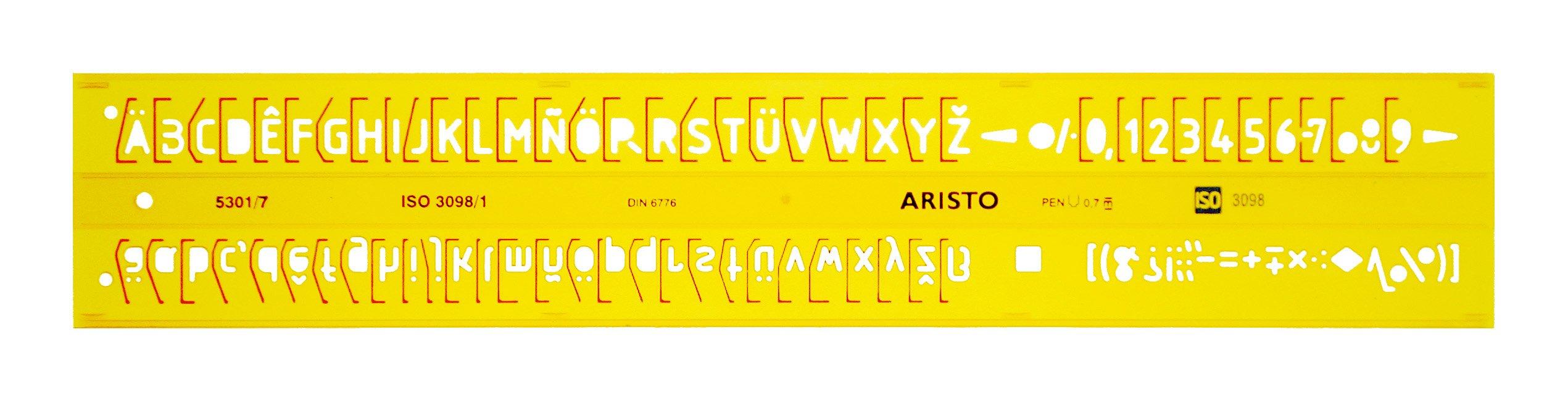 Aristo AR5301/7 STENCIL, H-PROFIL, 7,0 MM, UPR.