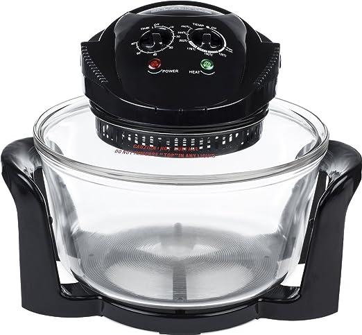 Horno halógeno Premium de 1400W y 17 litros - Completado con ...