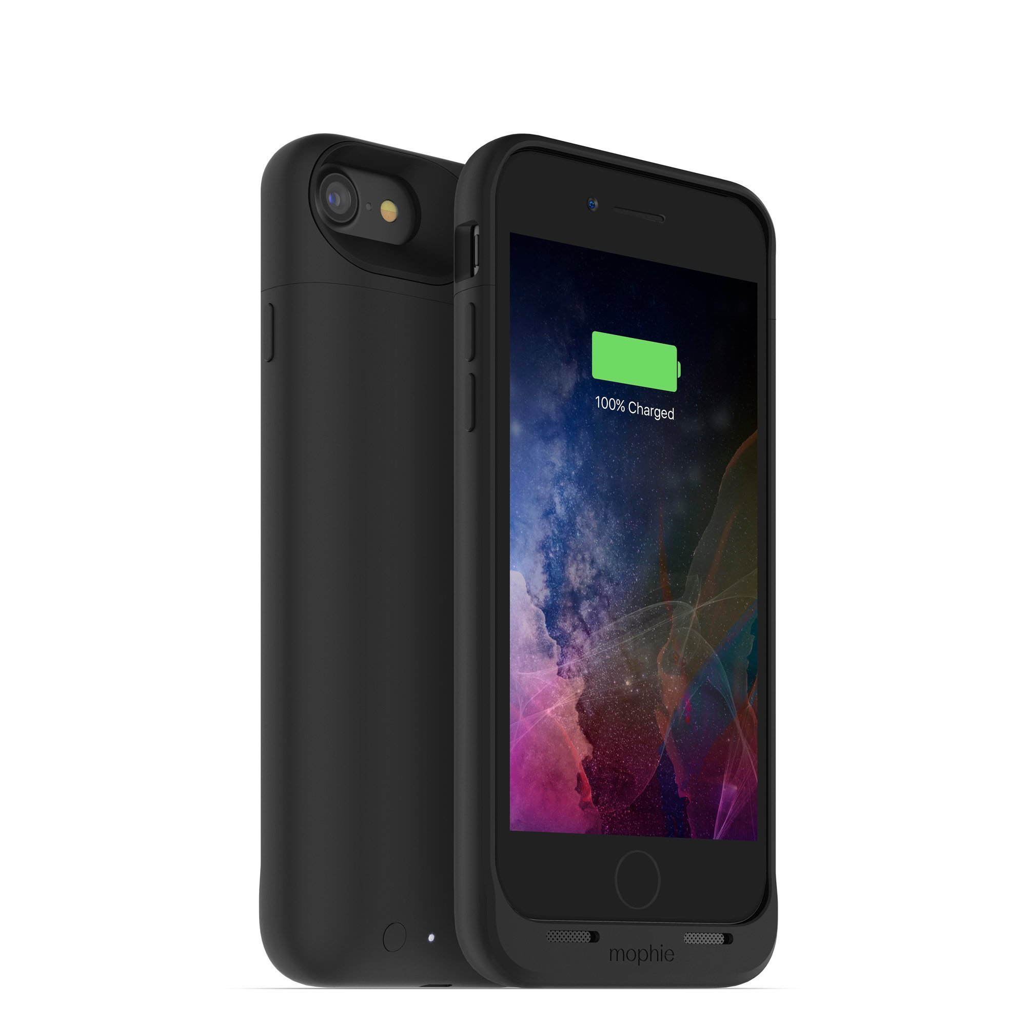Mophie juice pack air iPhone 7 Battery Case Black - 2525 mAh - Renewed