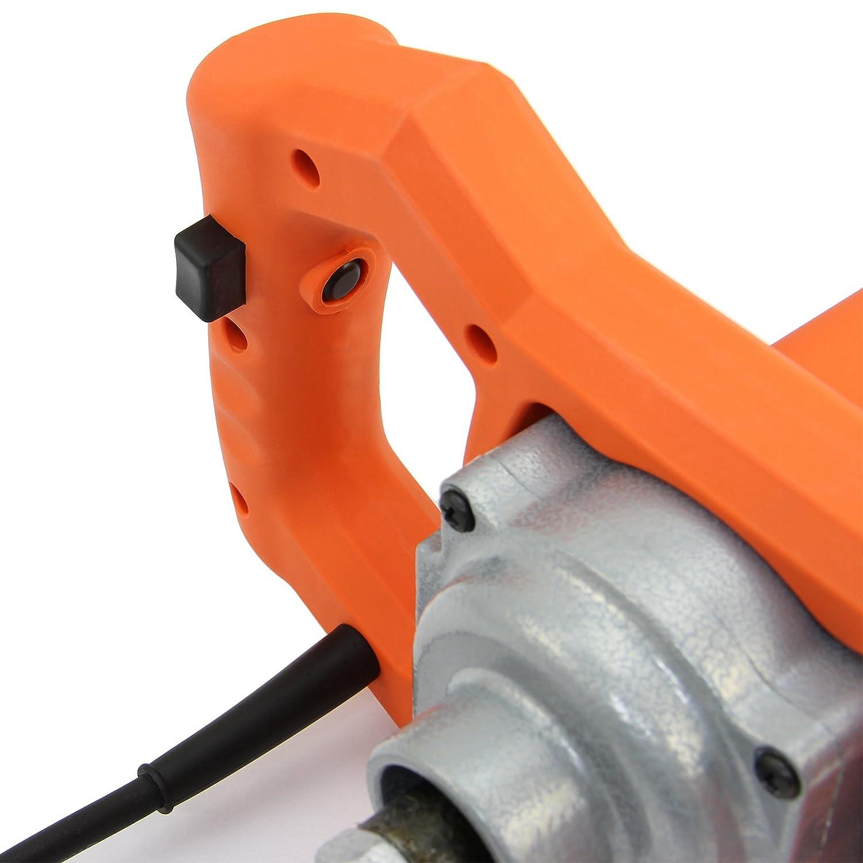 T-Mech Batidor de Pintura y mortero 1600W Mezclador de Concreto mano Mortero Agitador
