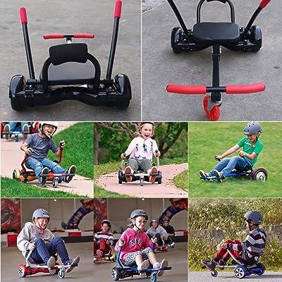 ENFANTS Pédale de voiture Kart Voiture Adjustableholder Assise pour 16,5cm 20,3cm 25,4cm équilibrage de Self balance Scooter avec 4réglages de longueur