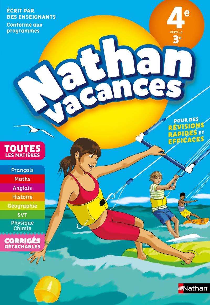 Amazon Fr Cahier De Vacances 2019 De La 4eme Vers La 3eme