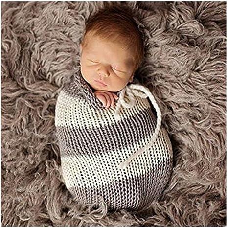 Bebé recién nacido accesorios de fotografía del traje de la muchacha del muchacho ganchillo trajes de
