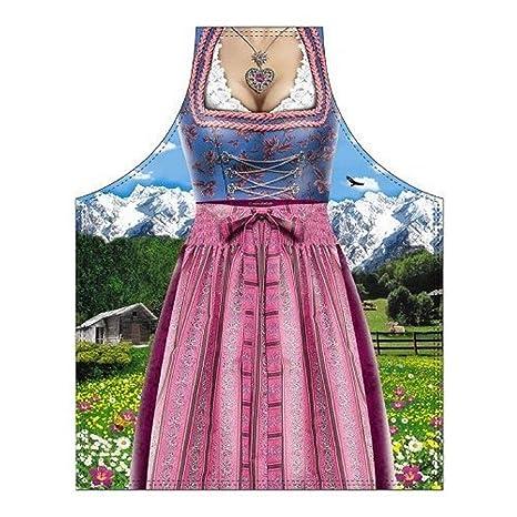 Bavarian Woman Traditional - Delantal para barbacoa y cocina ...