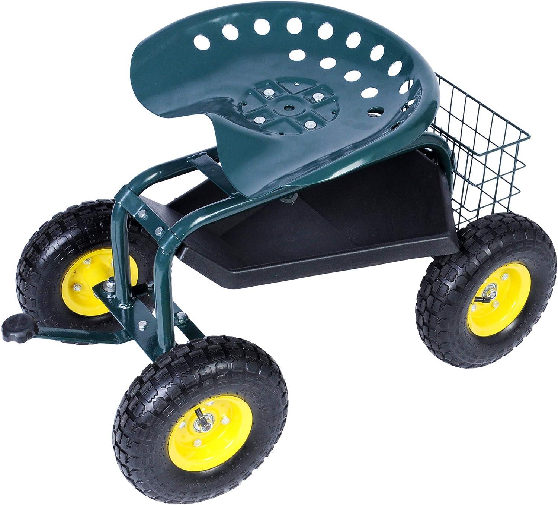Karma's Steerable Garden Scooter
