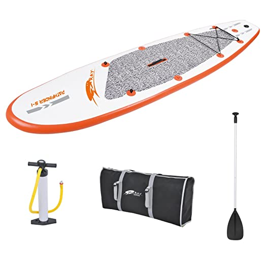 ray Paddle Board 10' Inflatable Stand-Up Paddleboard Set