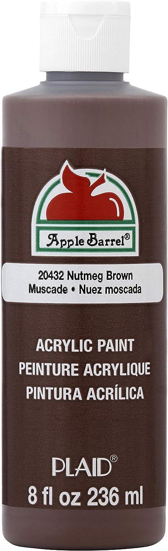 Apple Barrel Acrylic Paint in Assorted Colors (8 Ounce), J20432 Nutmeg