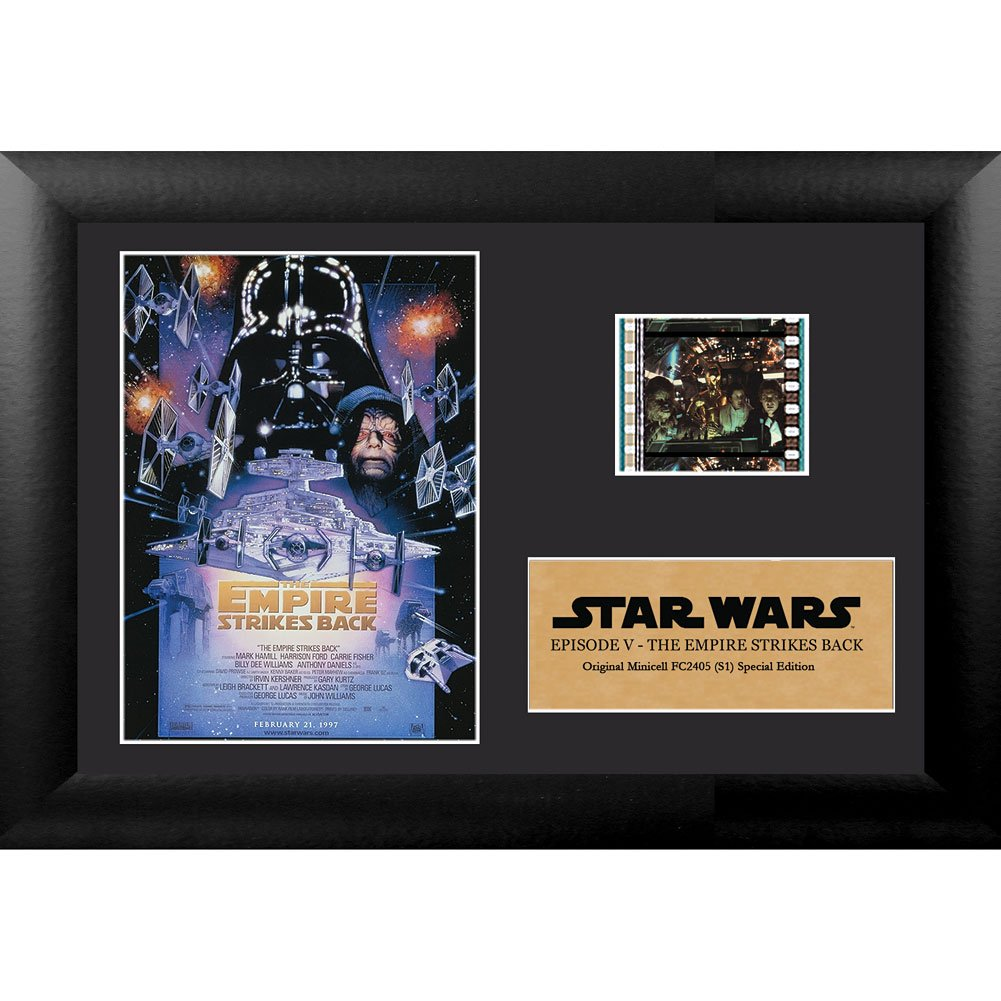 Star Wars Episode V The Empire Strikes Back Authentic 35mm Film Cell Special Edition Display 7x5