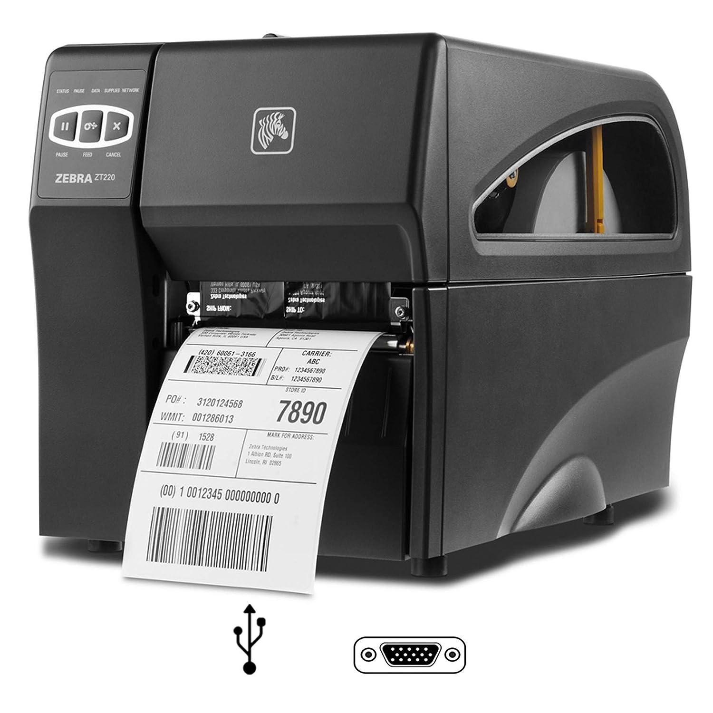 Zebra ZT220 - Impresora de Etiquetas (Transferencia térmica ...