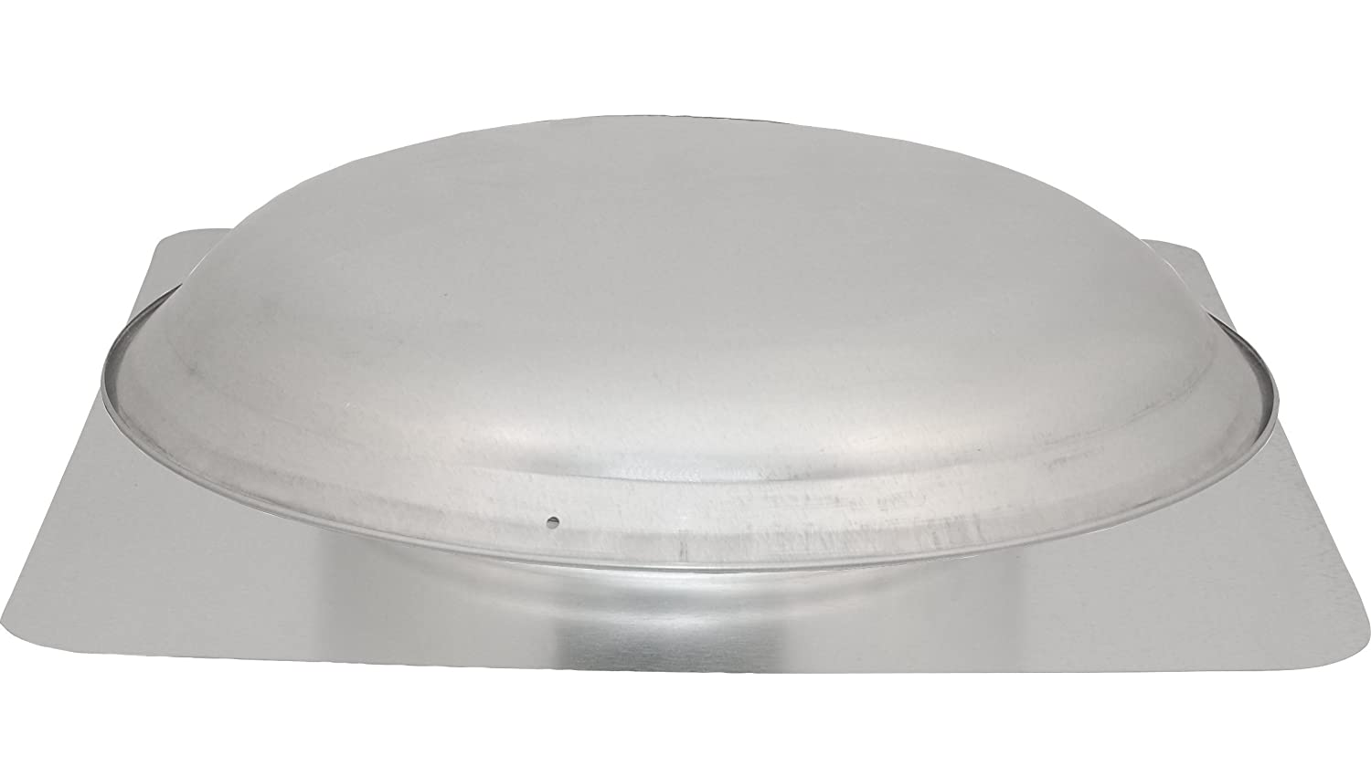Cool Attic CX1000AM Power Attic Roof Mount Ventilator with 3.4-Amp 60-Hz Motor and Steel Flange, Galvanized Steel Dome Ventamatic