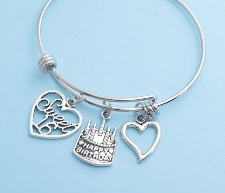 Sweet 16 Bangle Bracelet Gift