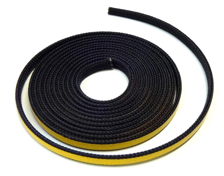 Chimenea Junta plana de cordó n cinta aislante autoadhesiva. Apto para Varios Modelos Oranier Chimenea 3 m, diá metro de 10 x 2 mm diámetro de 10x 2mm Bullenhitze UG