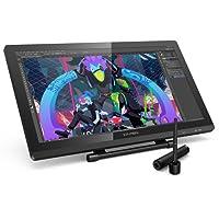XP-Pen Artist 22 Pro HD IPS Grafiktablet Pen Display Grafikmonitor Drawing Tablet 8192 Drucksensitivität unterstützt 4k Monitor Win7/8/10 Mac OS 10.8 (Artist 22Pro, Schwarz)