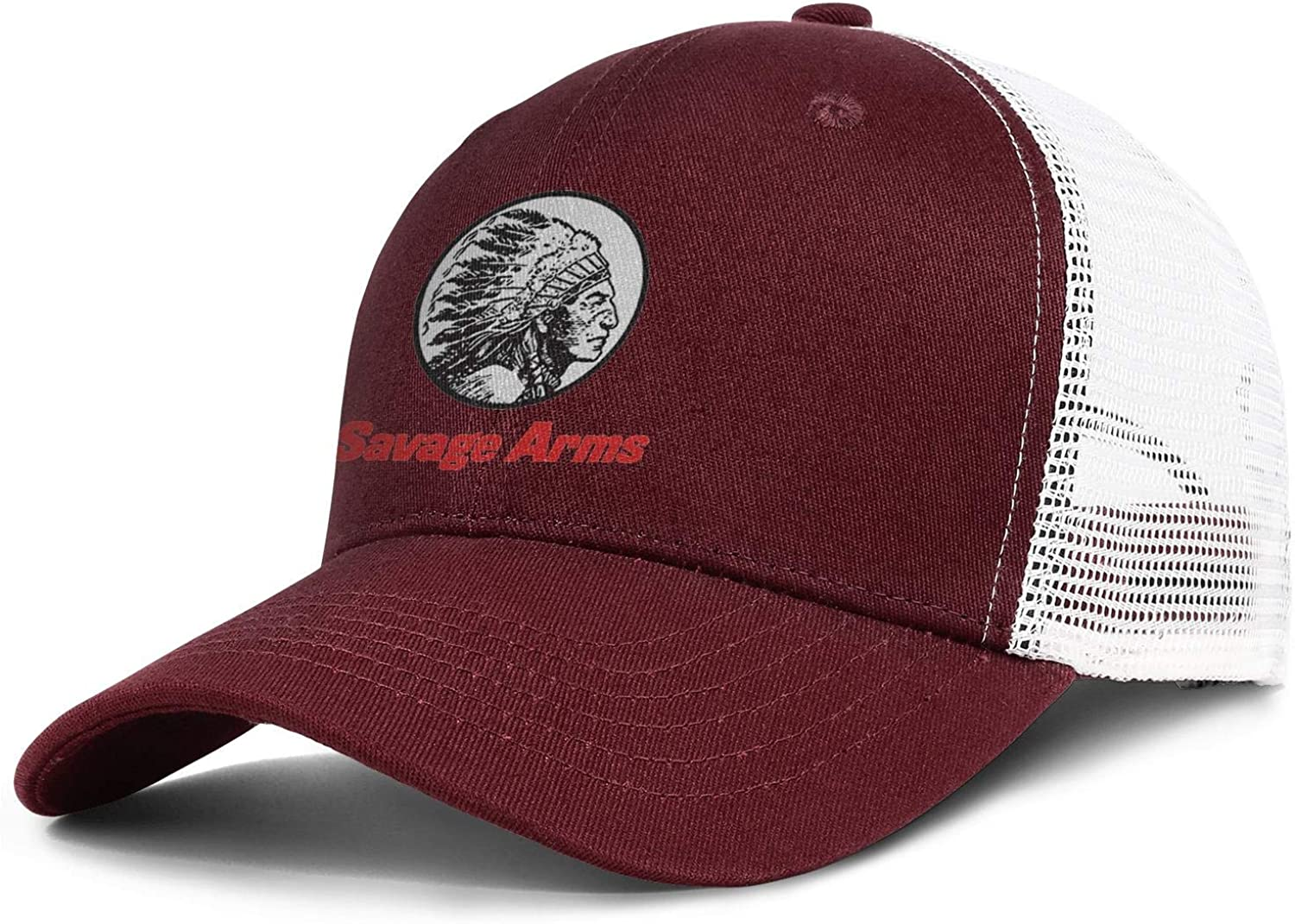 WintyHC Savage Arms Cowboy Hat Trucker Hat Adjustable Fits Gas Cap