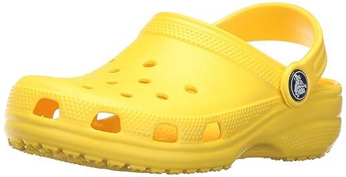 Crocs Classic Kids, Mixte Enfant Sabots, Jaune (Lemon), 19-21