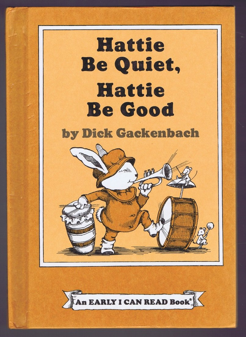 Story and pictures An Early I can read book Hurray for Hattie Rabbit