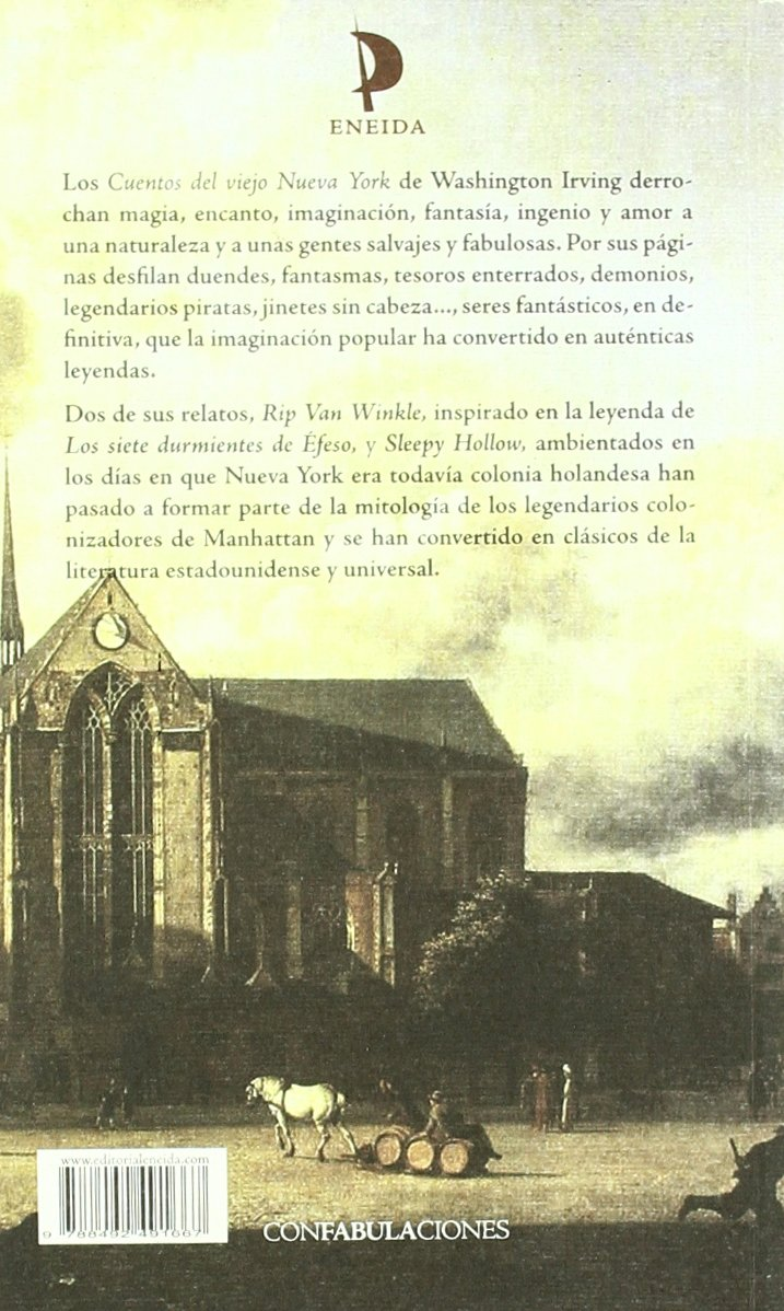Cuentos del viejo Nueva York: Washington ; López Losada, Pilar Irving: 9788492491667: Amazon.com: Books
