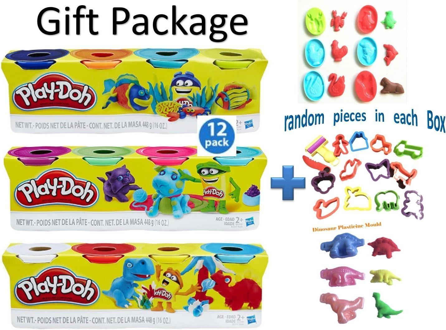 Play-Doh – Pack de 4 unidades de colores, Set de regalo – bundle ...