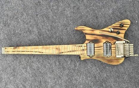 Musoo - Guitarra eléctrica de viaje sin cabeza: Amazon.es ...