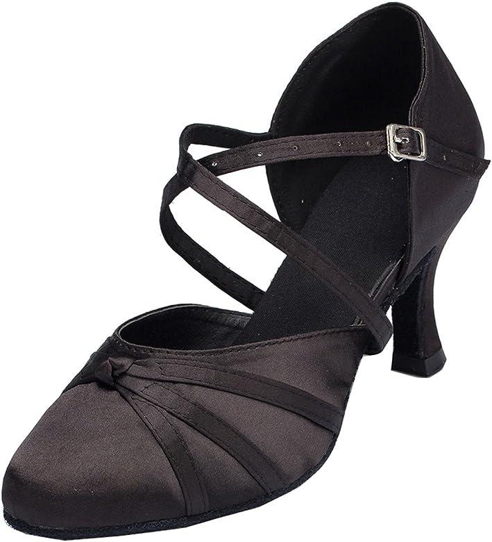 Satin Latin Ballroom Dance Shoes
