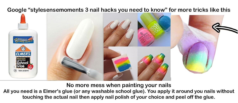 Amazon.com: HipGirl Nail Art Large Nailart Polish Stamping Manicure ...