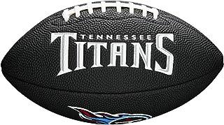 Wilson Sporting Goods NFL Tennessee Titans Logo de l'équipe de Football, Noir, Mini Taille Wilson Sporting Goods - Team WTF1533BLIDTN