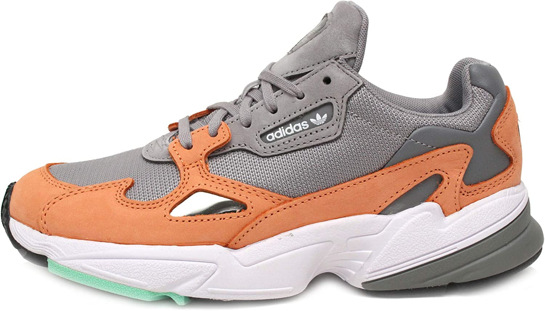 adidas falcon grise et orange