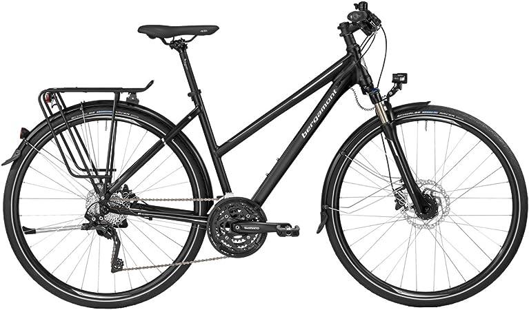 Bergamont – Bicicleta de trekking Horizon 7.0 Mujer Negro/Plata ...
