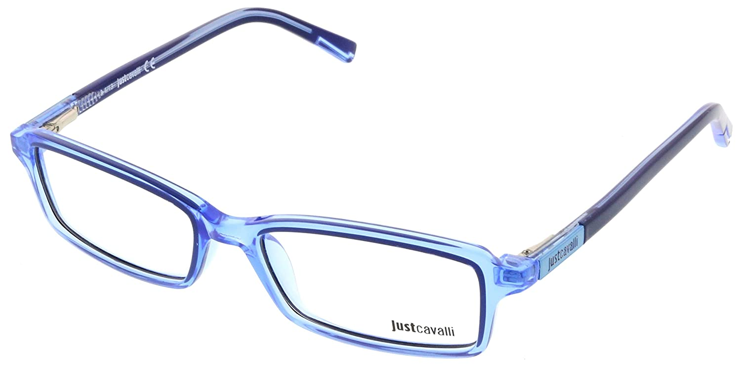 Just Cavalli JC0531/V 084 Cornflower Blue Rectangle Optical Frames