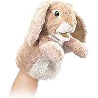 Folkmanis Little Lop Rabbit Hand Puppet